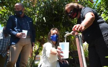 """Se inauguró la red de agua potable para el barrio """"El Progreso"""" en Benavídez"""
