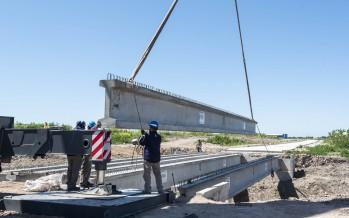 Destacan el avance de obras en la Cuenca del Río Reconquista