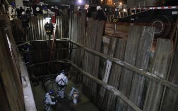 AySA reemplazó una cañería en General Pacheco que había sido dañada por una empresa de gas