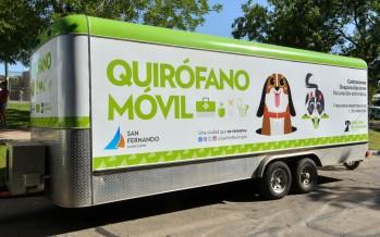 San Fernando: turnos online y operativos barriales del quirófano móvil de Zoonosis