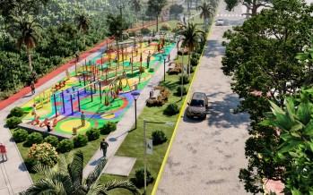 San Fernando anunció la construcción de un parque donde se entubó el zanjón Miguel Cané