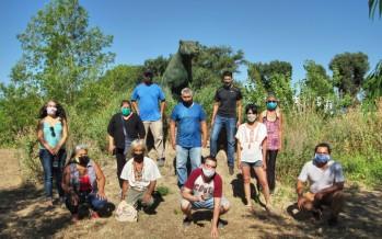 Autoridades del Consejo Provincial de Asuntos Indígenas visitaron Punta Querandí