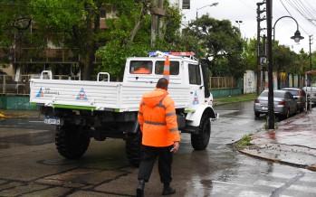 Sudestada: el Municipio de San Fernando brinda recomendaciones y cuidados