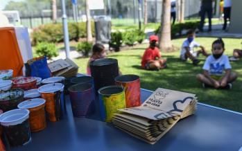En las colonias de verano de San Fernando enseñan a reciclar y hacer huertas