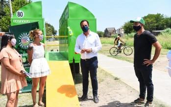 Punto verde móvil: hasta el sábado estará instalado en Garín