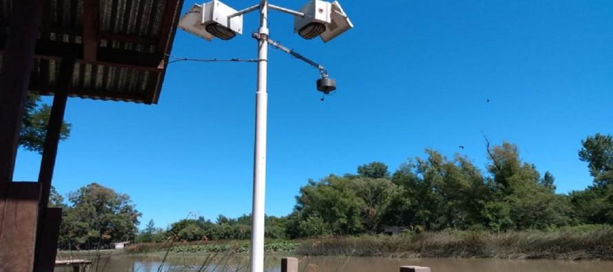 El Gobierno nacional instaló un nuevo sensor de nivel del Delta del Paraná