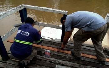 El Municipio de Tigre realiza trabajos de mantenimiento en el Delta