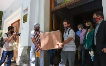 Restitución de restos de ancestros a la Comunidad Indígena Punta Querandí de Tigre