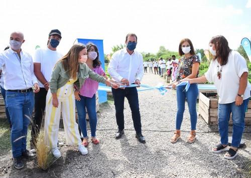 Escobar inauguró la segunda Huerta Agroecológica Municipal en Maquinista Savio
