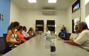 Funcionarios del Municipio de Escobar recibieron a los representantes de la Unión de Pueblos Originarios