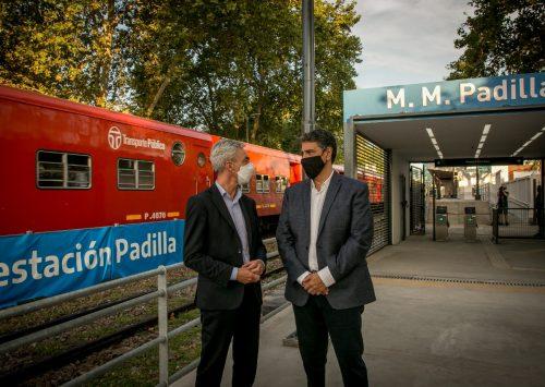 Inauguraron la renovada Estación Padilla en Vicente López