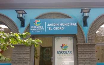 Dos jardines escolares de Escobar ya cuentan con energía solar