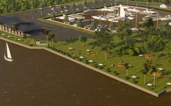 Avanza la obra de ampliación del Parque Náutico en San Fernando