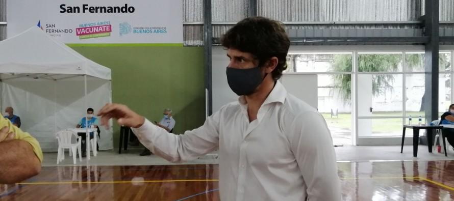 """Juan Andreotti:  """"A este ritmo en seis días tendremos vacunados a todos los mayores de 70 años que se anotaron"""""""