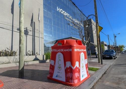 Tres nuevas campanas para reciclar plásticos en Virreyes
