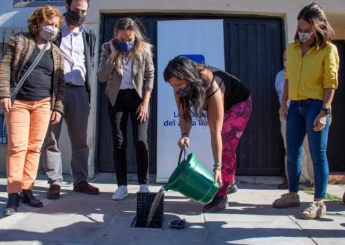 AySA inauguró una nueva red cloacal en General Pacheco