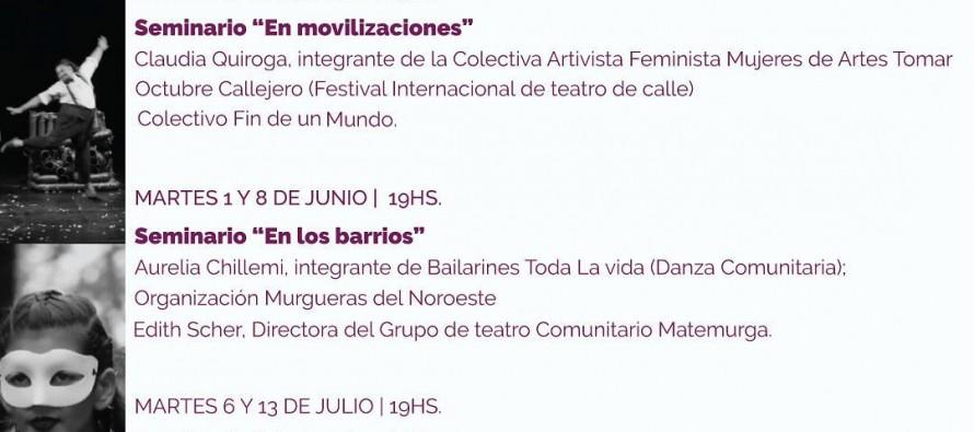Seminarios sobre teatro y danza del Centro Cultural de la Universidad Nacional de General Sarmiento