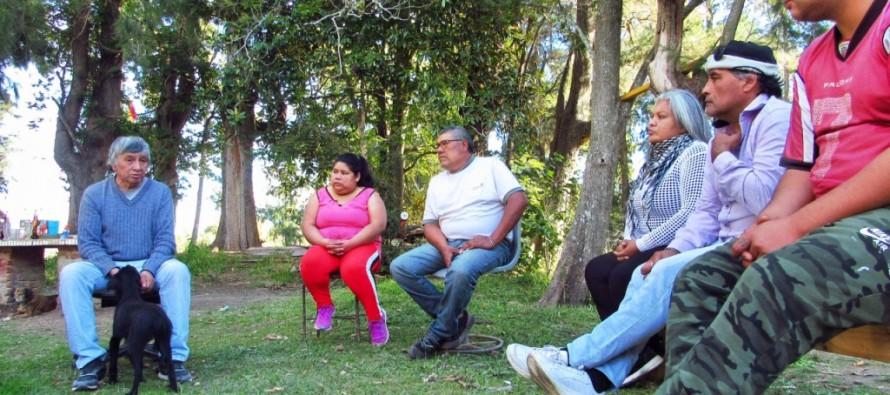 Asamblea en la comunidad mocoví del Delta