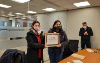 La cooperativa Creando Conciencia recibió el reconocimiento a la calidad ambiental